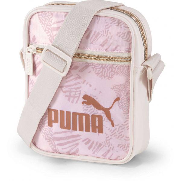 Puma CORE UP PORTABLE růžová NS - Dámská dokladovka