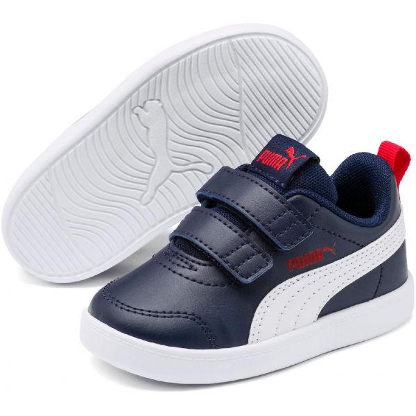 Puma COURTFLEX V2 V INF černá 6 - Dětské tenisky