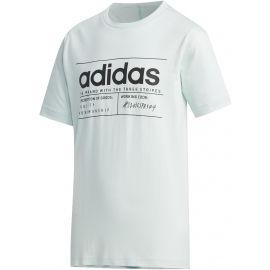 adidas YB BB T - Chlapecké tričko
