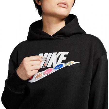 Damen Sweatshirt - Nike NSW ICN CLSH FLC HOODIE BB W - 3