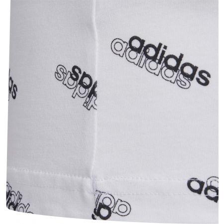 Koszulka dziewczęca - adidas YG FAV T - 4