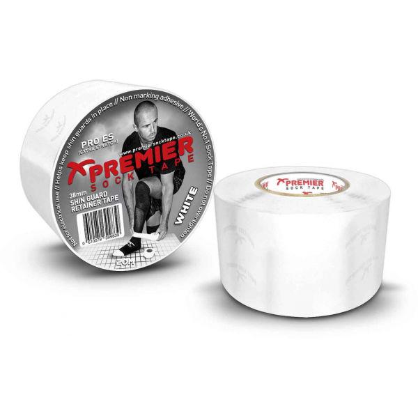 Premier Sock Tape SHIN GUARD RETAINER TAPE PRO ES bílá NS - Tejpovací pásky