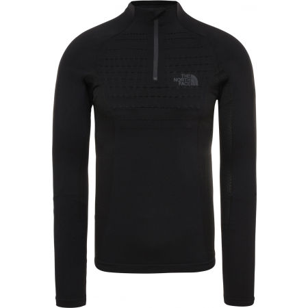 The North Face SPORT L/S ZIP NECK - Men's T-shirt