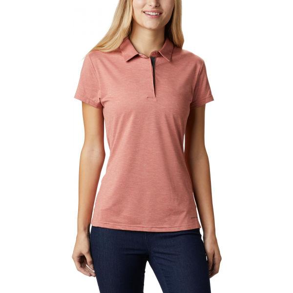Columbia BRYCE POLO růžová L - Dámské polo tričko