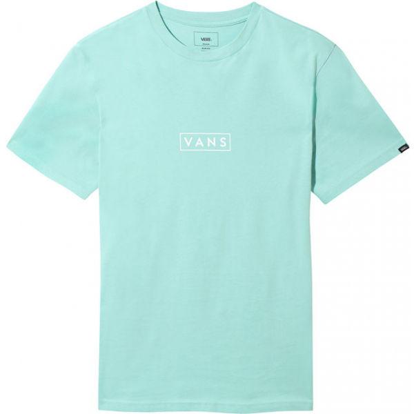 Vans MN VANS EASY BOX SS modrá S - Pánské triko