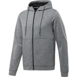 Reebok WORKOUT READY DOUBLE KNIT FZ HOODIE - Men's sweatshirt