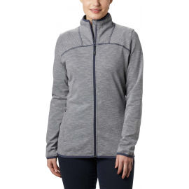 Columbia FIRWOOD CAMP STRIPED FLEECE FZ - Hanorac de damă