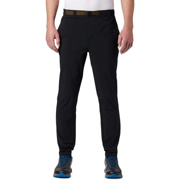 Columbia LODGE WOVEN JOGGER čierna S - Pánske outdoorové nohavice