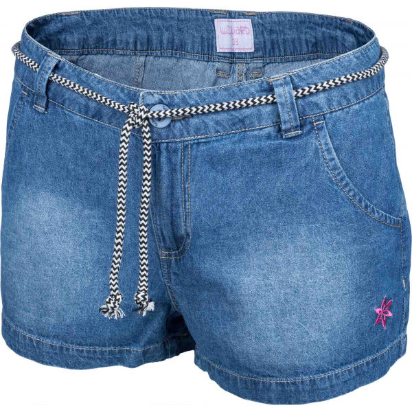 Willard LUEN kék 36 - Női vászon rövidnadrág