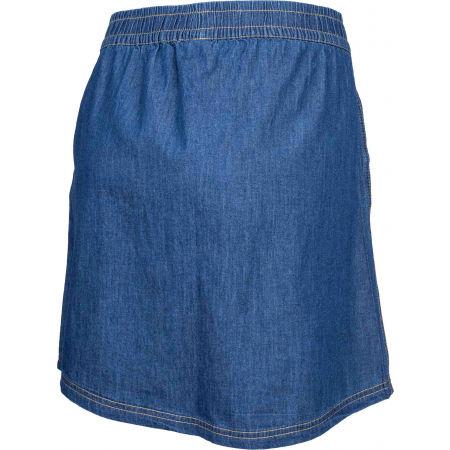 Dámska plátená sukňa s džínsovým vzhľadom - Willard LELA - 3