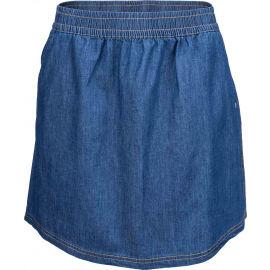 Willard LELA - Dámska plátená sukňa s džínsovým vzhľadom