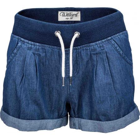Dámské plátěné šortky džínového vzhledu - Willard TONJA - 2