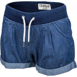 Willard TONJA - Dámské plátěné šortky džínového vzhledu