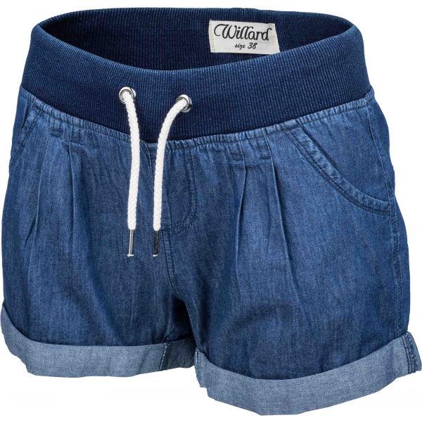 Willard TONJA kék 36 - Farmer hatású női vászon rövidnadrág