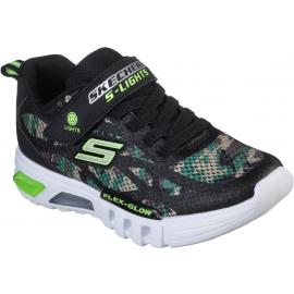 Skechers S-LIGHTS FLEX-GLOW - Chlapčenské blikajúce tenisky