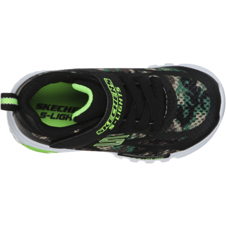 Flashing sneakers for the youngest ones - Skechers S-LIGHT FLEX-GLOW - 4