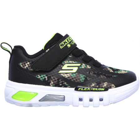 Flashing sneakers for the youngest ones - Skechers S-LIGHT FLEX-GLOW - 2