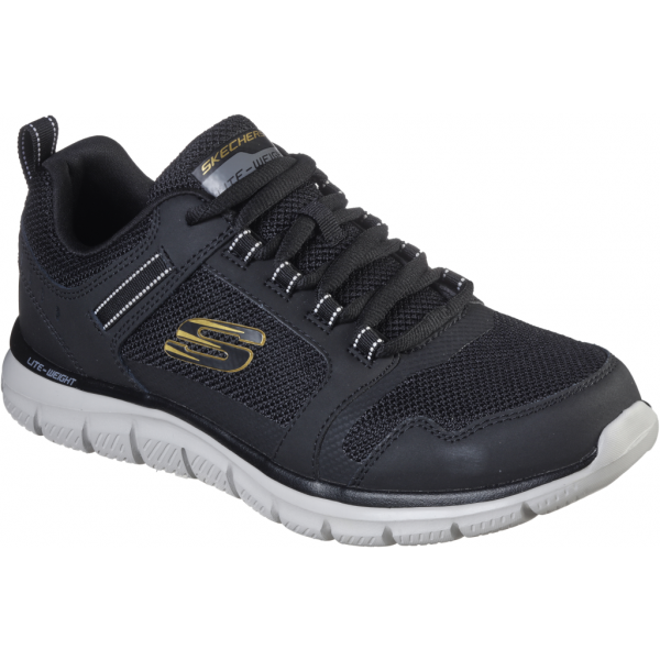 Skechers TRACK KNOCKHILL černá 45 - Pánské tenisky