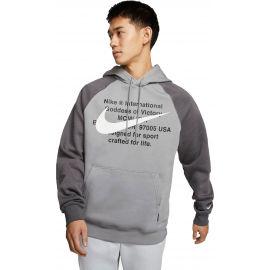 Nike NSW SWOOSH HOODIE PO BB M - Férfi pulóver