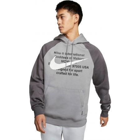 Pánska mikina - Nike NSW SWOOSH HOODIE PO BB M - 1