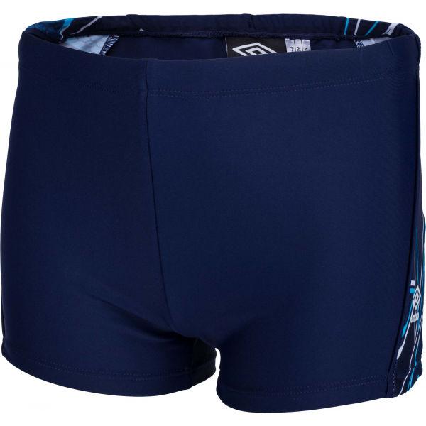 Umbro VALO tmavě modrá 140-146 - Chlapecké plavky s nohavičkou