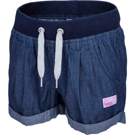 Lewro LAILA - Dievčenské šortky s džínsovým vzhľadom