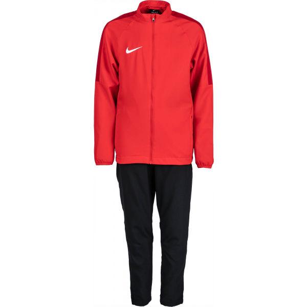 Nike DRY ACDMY18 TRK SUIT W Y červená M - Chlapecká fotbalová souprava