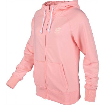 Női pulóver - Lotto SMART W SWEAT FZ HD FT - 2