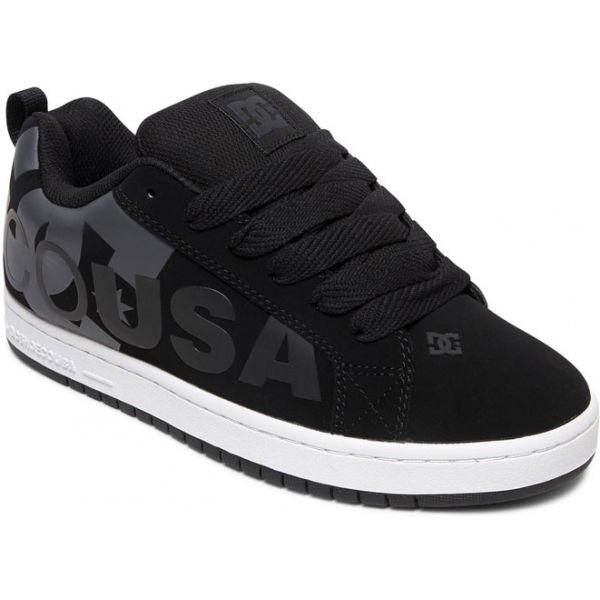 DC CT GRAFFIK SE M SHOE černá 8.5 - Pánská volnočasová obuv