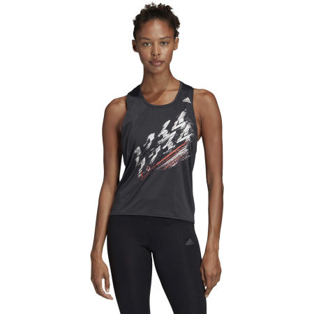 Damen Trainingstop - adidas SPEED TANK W - 4