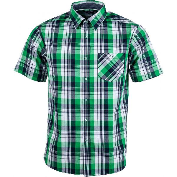 Willard ALEM zelená M - Pánská košile