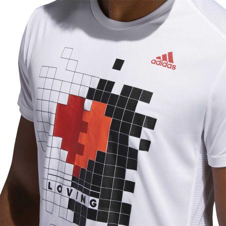 Herrenshirt - adidas OWN THE RUN TEE - 8