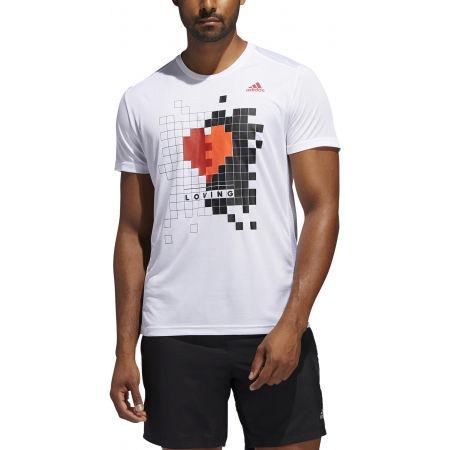 Herrenshirt - adidas OWN THE RUN TEE - 3