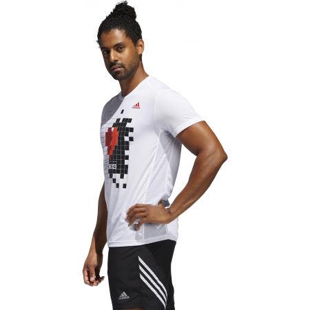 Herrenshirt - adidas OWN THE RUN TEE - 5