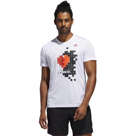 Herrenshirt - adidas OWN THE RUN TEE - 4