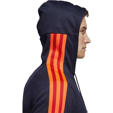 Pánska mikina s kapucňou - adidas 3S PIQUE FZ - 10