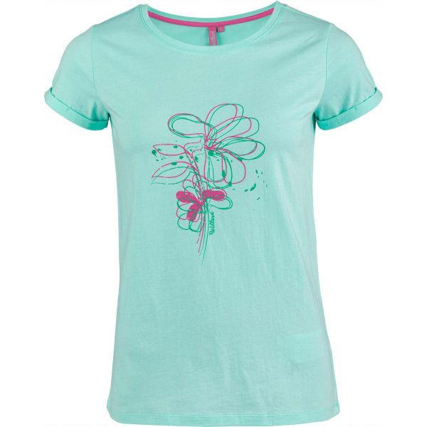 Willard ABIOLA zelená M - Dámské triko
