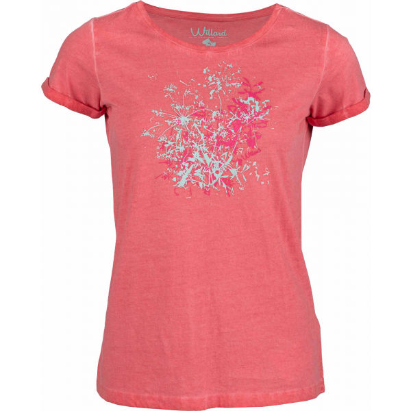 Willard DONATA růžová S - Dámské triko