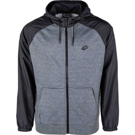 Lotto DINAMICO II SWEAT FZ HD MEL PL - Bluza z kapturem męska