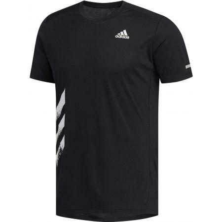 Pánske bežecké tričko - adidas RUN IT TEE PB - 1
