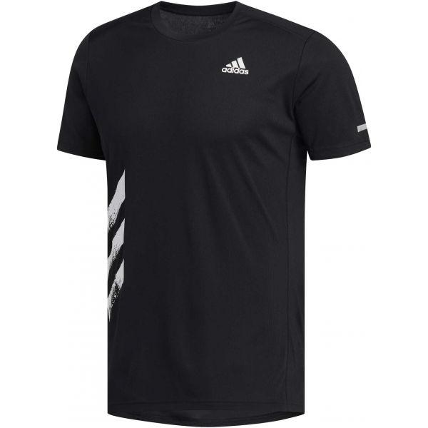 adidas RUN IT TEE PB černá L - Pánské běžecké triko