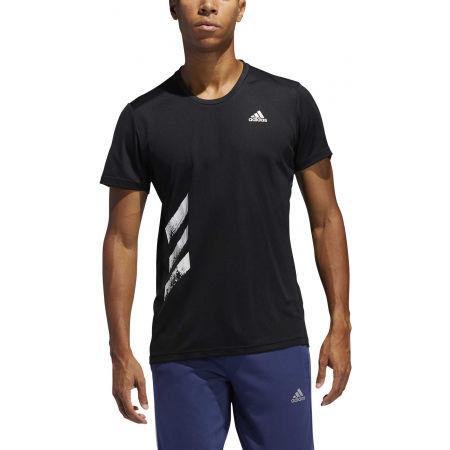 Pánske bežecké tričko - adidas RUN IT TEE PB - 3