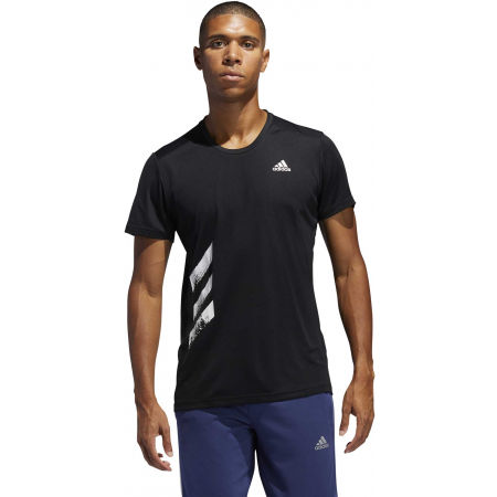 Pánske bežecké tričko - adidas RUN IT TEE PB - 4