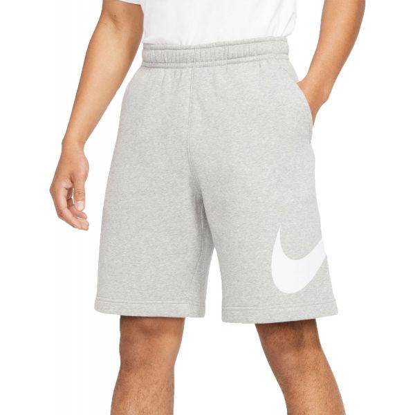 Nike NSW CLUB SHORT BB GX M šedá L - Pánské kraťasy
