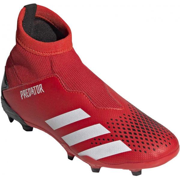 adidas PREDATOR 20.3 LL FG J červená 33 - Detské kopačky