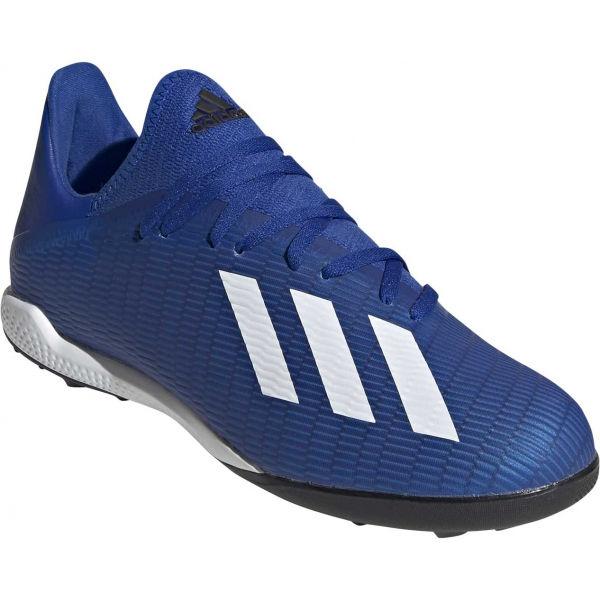 adidas X 19.3 TF modrá 10 - Pánské turfy