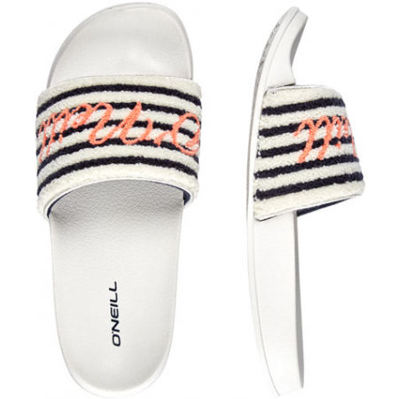 Дамски чехли - O'Neill FW SLIDE TERRY SANDALS - 2