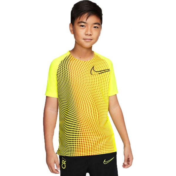 Nike DRY TOP SS B žlutá M - Chlapecké tričko