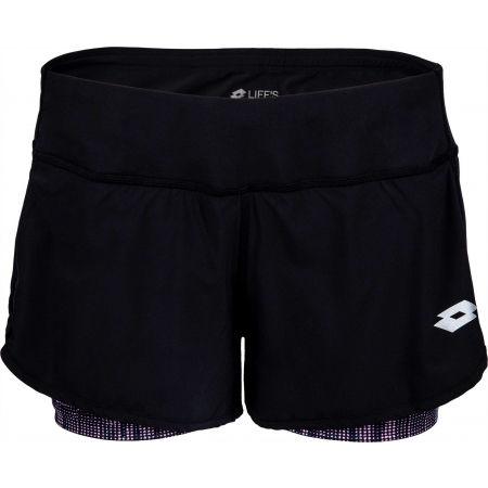Pantaloni scurți damă - Lotto SPEEDRUN W II SHORT PL - 2