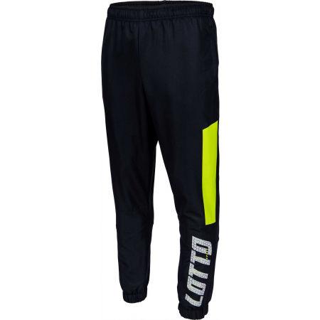 Spodnie dresowe męskie - Lotto LOGO III PANT CUFF DB - 1